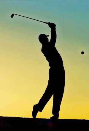 Knee-arthritis-golf